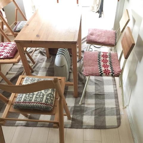 2月最初の編み物クラブ