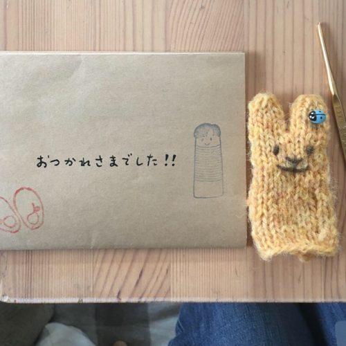 昨日の水曜編み物クラブ
