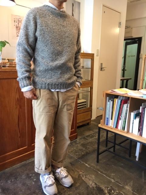働くセーターを着る人は   その2