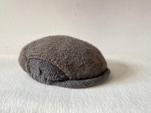 ツートンハンチング帽