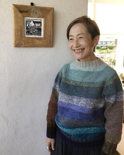 佐藤ちひろさんの働くセーター