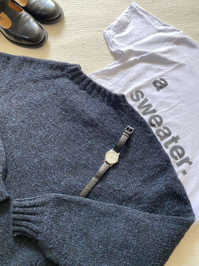 大切な友人への働くセーター
